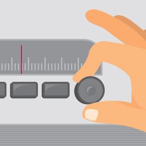 Tuning a radio