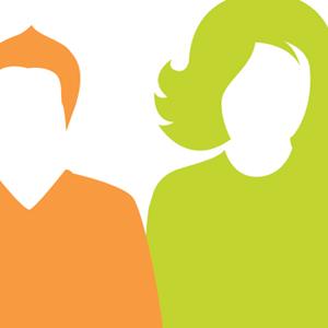 Employee silhouettes