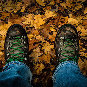 Boots on the Appalachian Trail