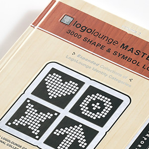 "LogoLounge Book, ""Shapes and Symbols"""