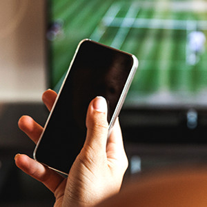 The Second Screen Takeover: Mobile phones while watching TV