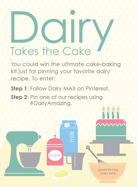 Dairy Takes the Cake Ad and Sweepstakes