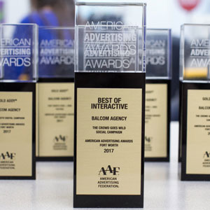 Balcom Agency Wins Best of Interactive and 38 Awards