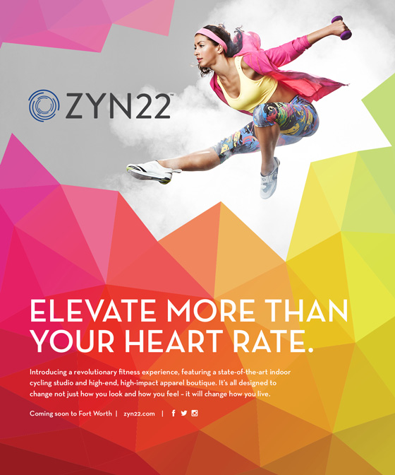 Zyn22 Ad, Elevate more than your heart rate