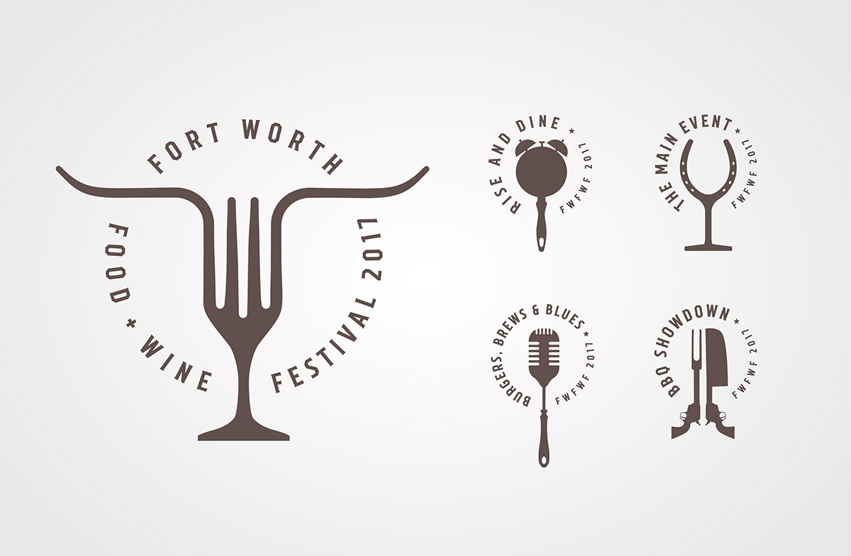 Fort Worth Food & Wine Festival Logo