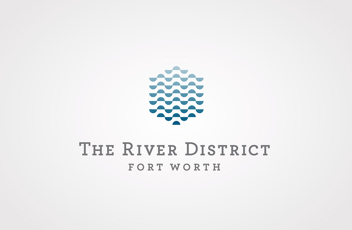 The River District Logo